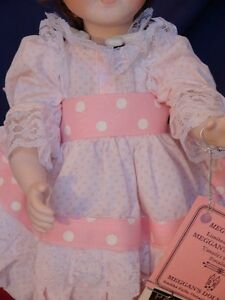 Meggan's Collectors Canadian Procelain Handmade Doll Partytime London Ontario image 2