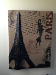Paris Picture Canvas and Metal