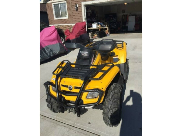 Used 2008 Can-Am Outlander 800 HO XT