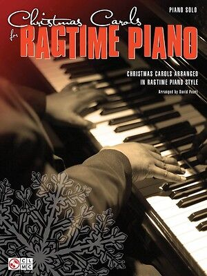 Christmas Carols for Ragtime Piano Sheet Music Piano Solo SongBook NEW 002501853 Christmas Piano Sheet Music