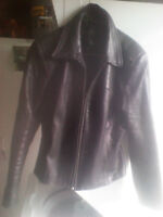 Womens Small Leather Danier Jacket