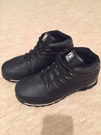 MENS BOOTS - MULTI PURPOSE Ankle boots, Black, UK SIZE 8