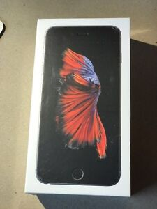 Brand new in box iPhone 6s Plus space grey 128gb Rogers