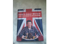 6 cookery books - Jamie Oliver and other