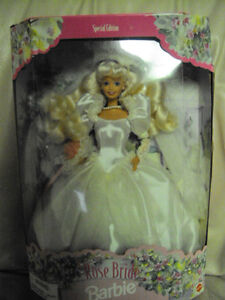 Rose Bride Barbie  COLLECTABLE   MINT CONDITION London Ontario image 2