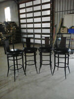 4 Bar Stools - Like New Never Used