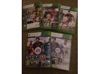 *BARGAIN!!*FIFA BUNDLE XBOX 360 - FIFA 13-FIFA 17!!L@@K!!