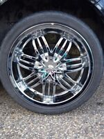 18 inch chrome wheels