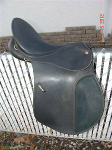 "17"" Wintec Saddle,"