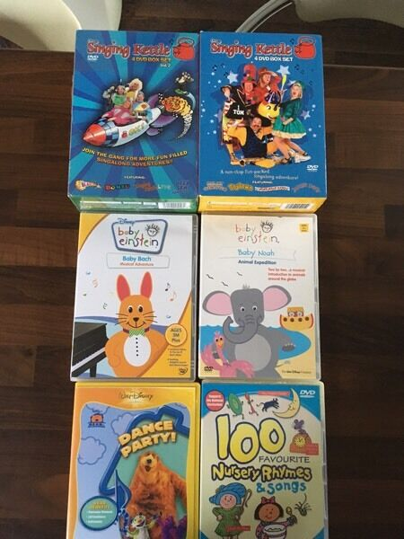 Baby DVDs bundlein Poole, DorsetGumtree - Baby DVD bundle from 3 months old. 1 of the box sets is unopened. Baby Einstein is retails still at £15 each