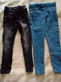 2x jeans 5 and 5-6 yrs
