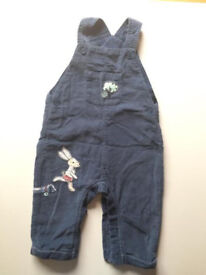 M&S dungarees 9-12 months
