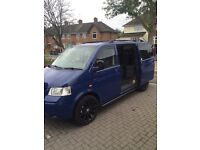Vw t5 camper day van