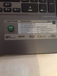 Acer laptop in great condition good price OBO