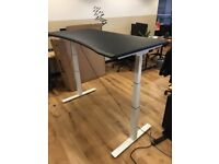 3 x LARGE ELECTRIC STANDING DESK IN SHOREDITCH (300 each - Normally £560 new!)