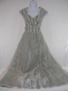 Party Gown,  L-XL handmade Vintage Shimmering Gown
