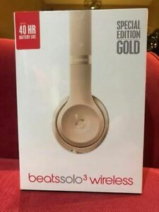 Wireless beats solo 3 wireless. Special Gold addition