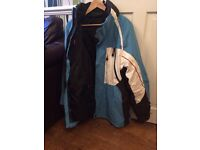 mens tchibo 3 in 1 ski jacket size large excellent condition