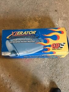 APEX Xlerator Performance Exhuast Muffler. *Brand New