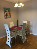 WEEKLY furnished suite in NORTH YORK Yonge Sheppard. MODERN.