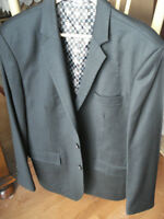 Charcoal Suit by Custom Tailor  size 42