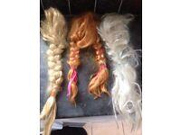 Disney princess wigs