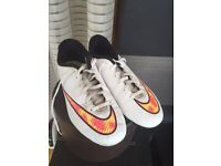 Boys Nike trainers - used size 5.