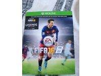 Fifa 16 game came with xbox1 need to scratch code of the bk