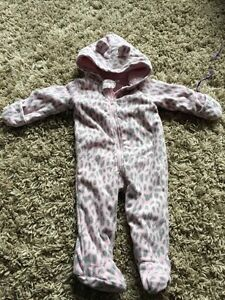 9 month fleece snowsuit
