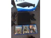 Ps4 slim Bundle latest edition PlayStation console