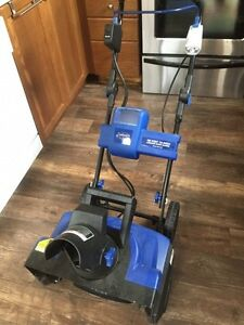 Wanted- charger and battery for this cordless snowblower  Kawartha Lakes Peterborough Area image 1
