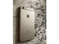 iPhone 6 16GB Silver UNLOCKED Spares or repairs NEW screen & battery