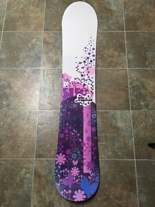 Girls/ ladies beginner snowboard set