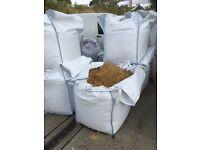 Aggregate sand tonne bulk bags