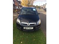 Vauxhall Zafira 1.6 Petrol Black