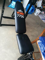 Work out bench, $50.00