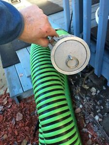 """3"""" Water Hose Brand new - 22' Feet long with end caps Strathcona County Edmonton Area image 4"""