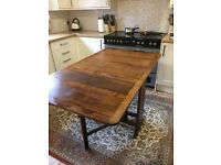 Drop Leaf solid oak table