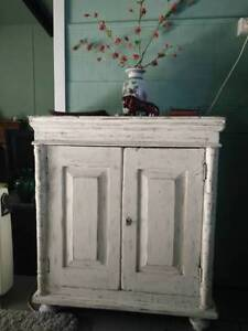 Cabinet Genuine Antique Cabinet shabby chic shelves hardwood key Wyongah Wyong Area Preview