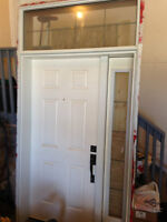 Entry Door w/ Side-lite and Transom Window