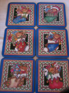 Pimpernel Lucy Rigg Christmas Teddy Bears Coasters, England Kitchener / Waterloo Kitchener Area image 6