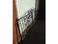 Driveway gates wrought iron.