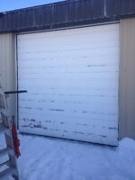 Used 10x10 garage door