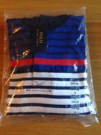 Ralph Lauren stripe hooded top
