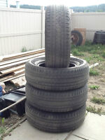 FOUR P275/65 R 18 BRIDGESTONE TIRES