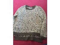 Lovely womens size 12 thick jumper new look