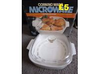 Corning Ware Microwave Browning Skillet