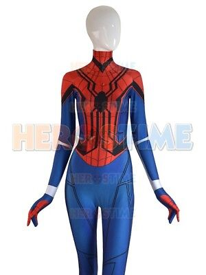 Mayday Homecoming Spiderman Costume Spider-Girl Cosplay Suit For Adult/Kids