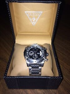 Men's silver GUESS watch  St. John's Newfoundland image 1
