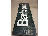 Vintage Barbour banner